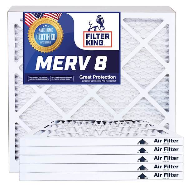 4 Pack of 14x22x1a Air Filter