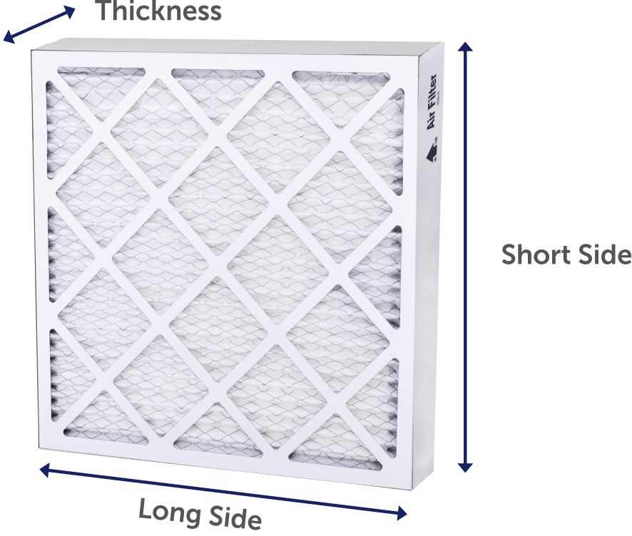Filter Size Chart
